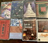 Cassette Tapes Christmas Lot Of 8
