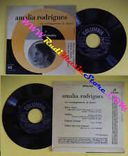 LP 45 7'' Amalia Rodrigues Barco Negro Solidao Fallaste Corazon No CD Mc DVD