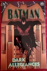 °BATMAN: DARK ALLEGIANCES° OneShot US DC 1996 Batman vs Faschismus vs Rassismus