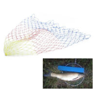 Durable Nylon Replacement Fishing Net Collapsible Rhombus Mesh Folding Dip  Dz
