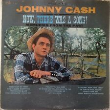 JOHNNY CASH Now, There Was A Song! LP Columbia CL 1463 US 1960 MONO