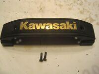 82-84 Kawasaki KZ550 KZ750 KZ1100 LTD SPECTRE FORK COVER BADGE EMBLEM W SCREWS