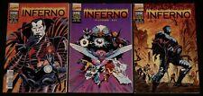 Inferno - 3 Volumes - Planet Comics N°4,5,6 - Marvel Comics - Eds. Semic - 1996