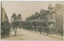 Sheffield, Gatefield Road 1909 Real Photo Postcard, C017