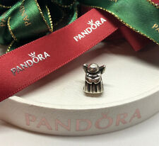 Pandora Silver Christmas Guardian Angel w Wings Charm #790337 Authentic Ale