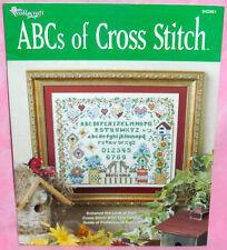 New listing Needlecraft Shop Abcs of Cross Stitch Chart Leaflet Birdhouse Flowers Sampler