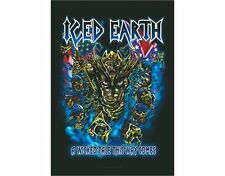 ICED EARTH - WICKED TALE - FABRIC POSTER - 30x40 WALL HANGING - HFL0931