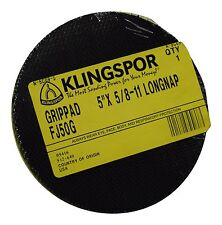 Klingspor 5x 58 11 Longnap Grippad Backing Pad Fj50g