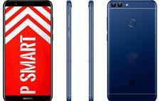 "HUAWEI P SMART 32GB BLU BLUE 5.65"" 3GB OCTA 2.0GHz GAR ITALIA BRAND MONO SIM"