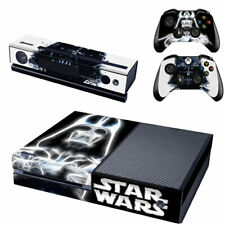 Darth Vader Xbox One Console SKIN + 2x Controller Stickers Decal FacePlate - Pad