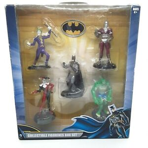 DC Comics Collectible Box Set Batman Killer Croc Harley Quinn Deadshot Joker NIP