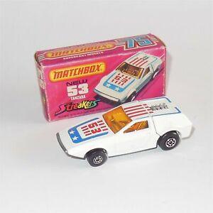 Matchbox Superfast 53 Tanzara Streaker with Original Box