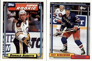 1992-93 Topps Hockey  (1-250) - You Pick The Card