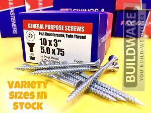 General Purpose Screw - Zinc Plated box (Silver)