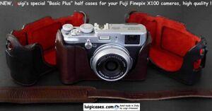 LUIGI BASIC PLUS CASE TO FUJI X100-S+GRIP,STRAP,UPS,VARIOUS COLORS,BARGAIN PRICE