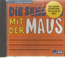 B -1 CD Die Sendung mit der Maus / Stefan Raab hier kommt die Maus WDR