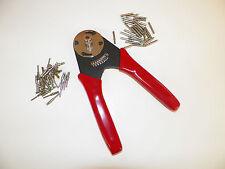 Harley  ECONOMY Deutsch 12-20 crimp tool crimper + solid terminals 4 INDENT DT