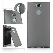 Xperia XA2 ULTRA Cover Impact Resistant Gel Smoke Black Precision Fit  ION Case