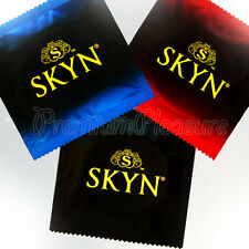 MATES SKYN Condoms Non Latex Free Variety MIX - Original Lubricated IntenseFeel