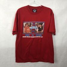 Junk Food Revenge Of The Nerds T Shirt Large Short Sleeve Red Mens Ogre Booger