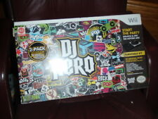 DJ Hero (Nintendo Wii, 2009) in Box 2 PACK INCLUDES GAME & 2 TURNTABLE CONTROLS