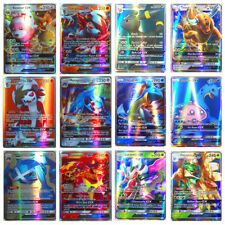 Pop 100pcs 95 GX 5 Mega Cards Pokemon Card Holo Flash Trading Cards Charizard