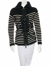 STUNNING, NEW $1,995 JEAN PAUL GAULTIER FEMME WOOL & CASHMERE CARDIGAN SWEATER