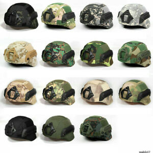 Hunting Paintball Camouflage Helmet Cover Cloth for MICH2000 Tactical Helmet