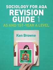 Sociology for AQA : AS and 1st-Year A Level by Ken Browne (2017, Hardcover)