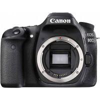 Canon EOS 80D 24.2MP Black Body Digital SLR Camera Japan Domestic Version New