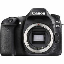 Canon EOS 80D 24.2MP Black Body Digital SLR Camera Japan Domestic Version New