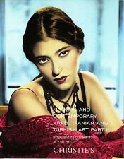 CHRISTIE'S ARAB IRANIAN TURKISH ART Part II 26/10/2011 DUBAI Auction Catalogue