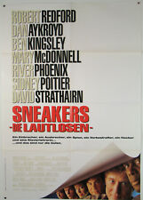 Sneakers - Die Lautlosen ROBERT REDFORD, SIDNEY POITIER 1992 - Filmplakat DIN A1