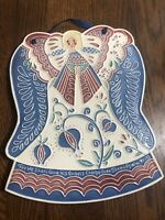 "J. DUBAN DESIGNS Angel Decorative Wall Tile  PSALM 91:11 LARGE 10.5"" x 8.5"""
