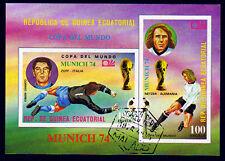 Aequatorialguinea Bl. 108, O, Fussbal WM 74, Netzer, Zoff