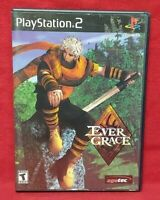 Evergrace   - PS2 Playstation 2 Game Tested Working Complete
