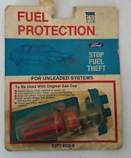 NOS Ford Gas Cap Lock Fuel Protector E2PZ-9030-B Red in Color 1980s Vintage