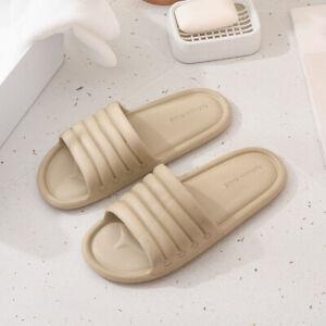 Indoor Shower Bath Slippers Women Men Non-Slip Home Bathroom Sandals Shoes New
