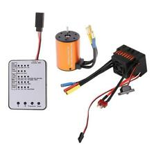3650 5200KV Brushless Motor + 60A ESC + LED-Programmierkarte für 1:10 RC