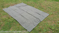 Green Wool Blanket British Army MOD 1.5m x 2m Reenactment Picnic Bed Hunting