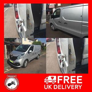 Renault Traffic 2014> Rear Van Security Deadlock Kit With Rear Hooklocks