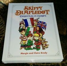 NEW Skippy Dimpledot Christmas in Europe ~ Margie & Claire Brody HARDCOVER 2010