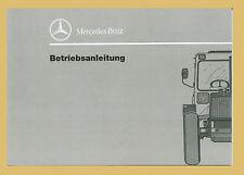 Mercedes Benz MB-trac 700 800 900 turbo 1000 1100  Betriebsanleitung