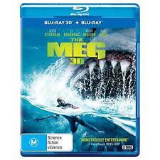 The Meg (Blu-ray, 2018, 2-Disc Set)