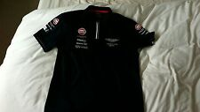 USED   2015 ASTON MARTIN RACING GULF Le MANS POLO Size = XXL EX CREW