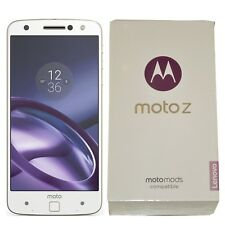 BNIB Motorola Moto Z 32GB XT1650-03 White/Gold Factory Unlocked 4G/LTE GSM