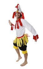 FANCY DRESS CHICKEN ROOSTER COSTUME UNISEX FUN VALUE ITEM