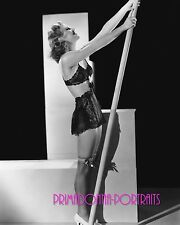 GINGER ROGERS 8X10 Lab Photo B&W 1930s STUNNING LINGERIE RISQUE BEAUTY PORTRAIT
