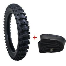 90/100-16 Tire Tyre and Inner Tube for Dirt Bike Off road Motorcycle Scooter