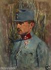 """Richard Benno Adam German/Austrian? Soldier With Iron Cross World War 1 11x8"""""""